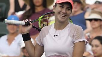 Belinda Bencic bekommt es in Miami zum Auftakt mit einer Qualifikantin zu tun