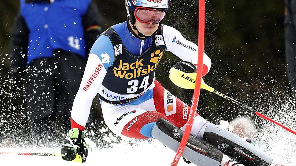 Die grösste Medaillenhoffnung von Swiss-Ski an den Junioren-Weltmeisterschaften in Are: Loïc Meillard