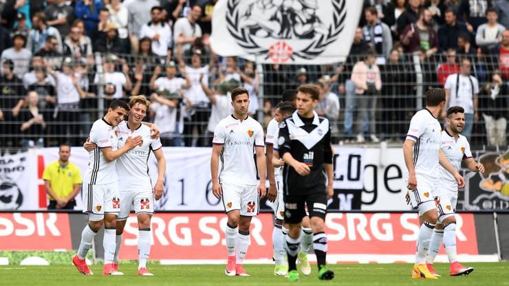 Der Schwede Alexander Fransson sorgte für die 1:0-Führung.
