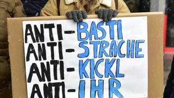 17'000 Menschen demonstrierten am Samstag in Wien gegen die Regierungspolitik von ÖVP und FPÖ unter Kanzler Sebastian Kurz.