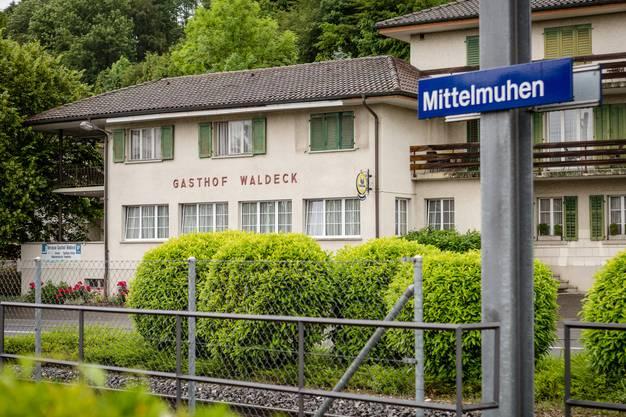 Der Gasthof Waldeck ist geschlossen. Was auf dem Areal zu Füssen der Kirche passieren wird, ist offen.