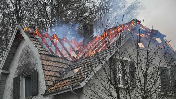 Die Brandursache ist geklärt: Eine defekte Lampe führte zum Brandausbruch.