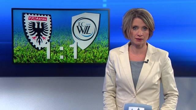 FC Aarau erreicht gegen FC Wil Unentschieden