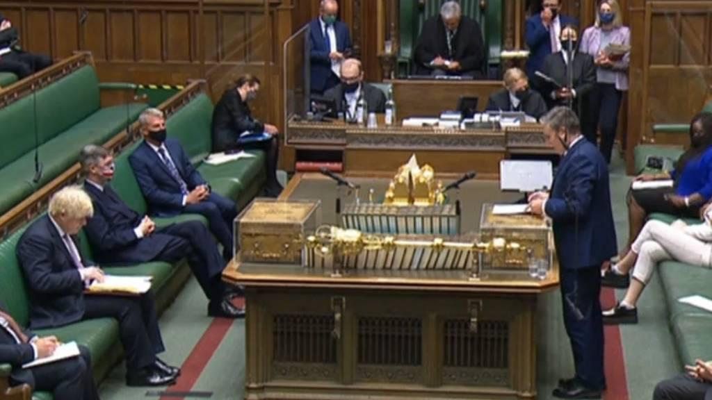 Opposition kritisiert Johnsons Corona-Politik: «Johnson-Variante»