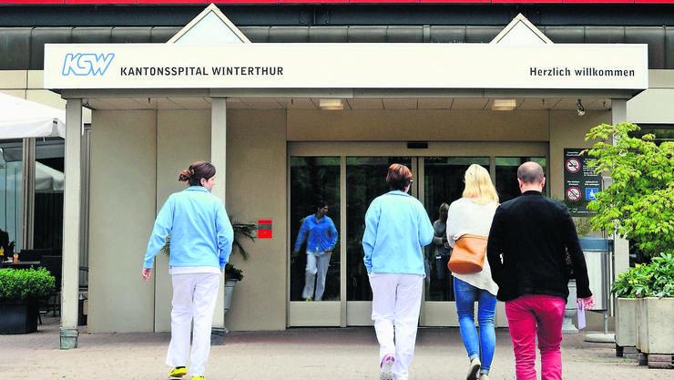 Das Kantonsspital Winterthur, ist eines der noch wenigen Spitäler im Kantonsbesitz. Jetzt soll es eine AG werden.