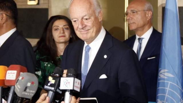 Der neue UNO-Sondergesandte für Syrien, Staffan de Mistura