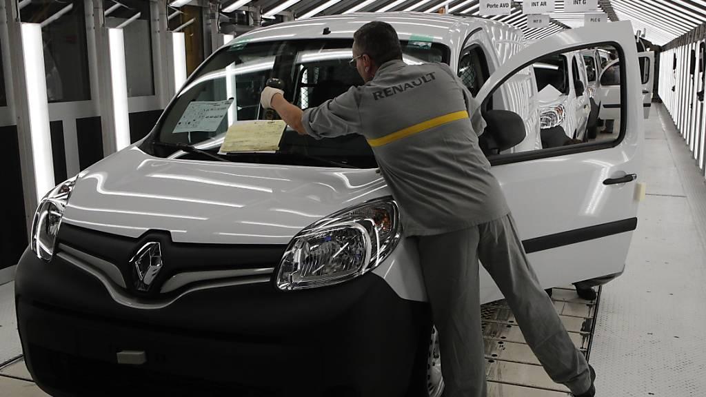 Der Autobauer Renaulthat den Umsatz um einen Viertel gesteigert. (Archivbild)