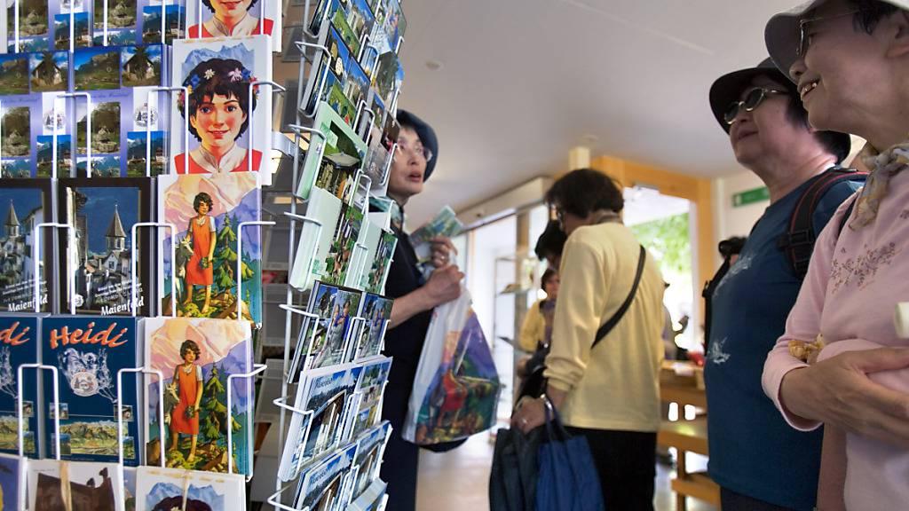 Das Heididorf in Maienfeld GR ist bei japanische Touristen besonders beliebt. In Ferienregion Flumserberg scheiterte ein ähnliches Projekt an der Urne. (Archivbild)