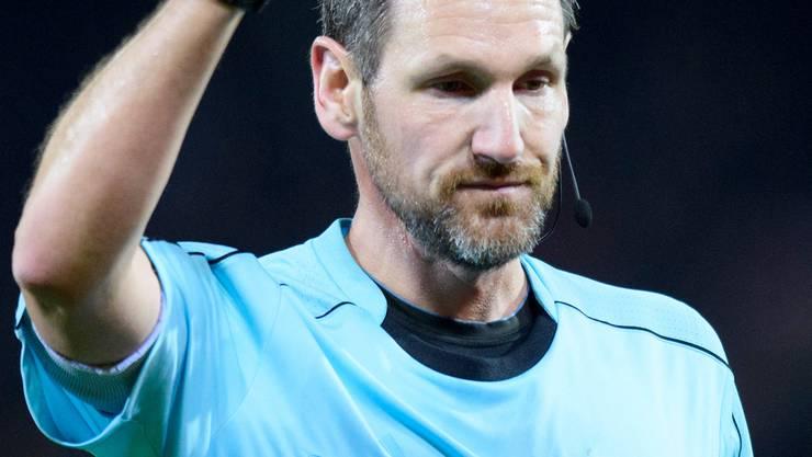 Der Ostschweizer Spitzenschiedsrichter Nikolaj Hänni.