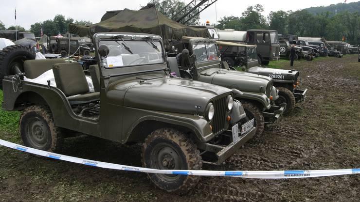 Jeep Militärfahrzeuge