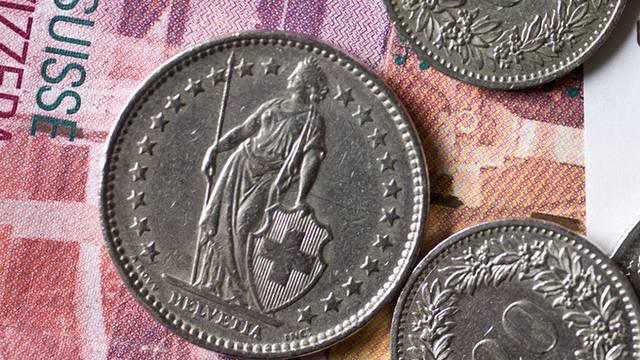 Schweizer Franken, Zweifränkler