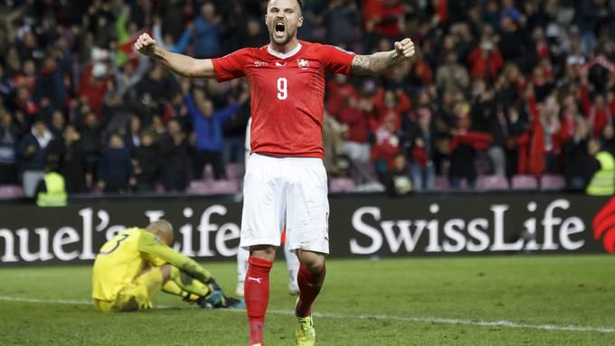 Ebnete mit seinem Treffer zum 1:0 den Weg für die plötzlich gute Ausgangslage der Schweizer Nati in der EM-Qualifikation: Haris Seferovic.