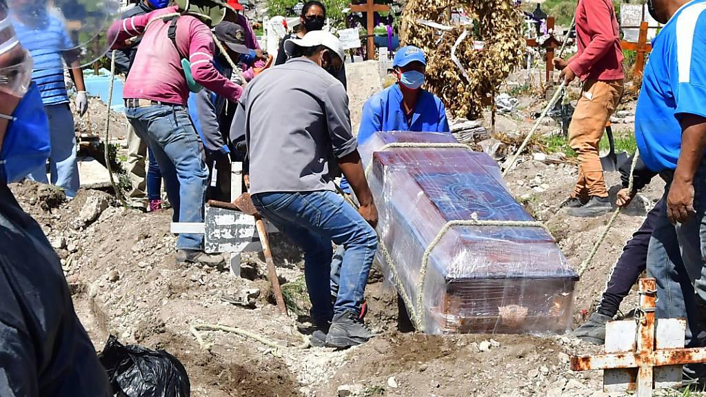 In Mexiko sterben immer mehr Menschen an den Folgen einer Coronavirus-Infektion.