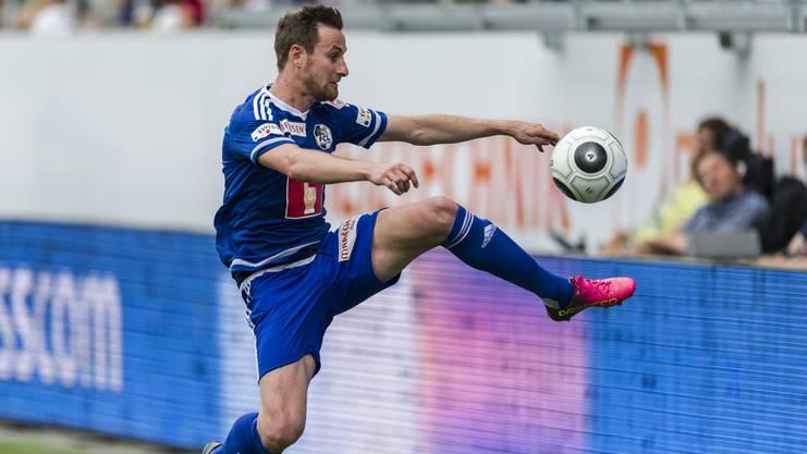 Jérôme Thiesson spielte vor seinem Abstecher in die MLS beim FC Luzern.