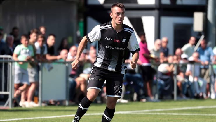 Dino Babovic traf für die Black Stars in der 61. Minute zum Ausgleich gegen die U21 des FC Sion.