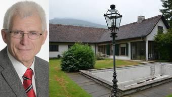 Georg Schellenberg tritt wegen der Affäre um die Villa Marti aus dem SVP-Kantonalvorstand aus.