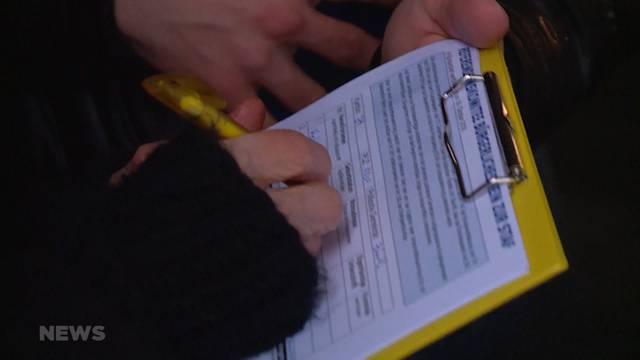 Unterschriftenjagd auf AHV-Steuerdeal