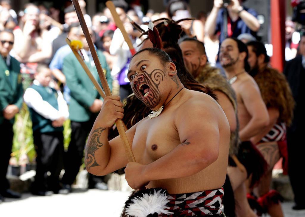 Prinz Charles im Maori-Königreich