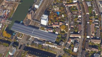 Beim Brand in der Nähe des Basler Rheinhafens wurde niemand verletzt.
