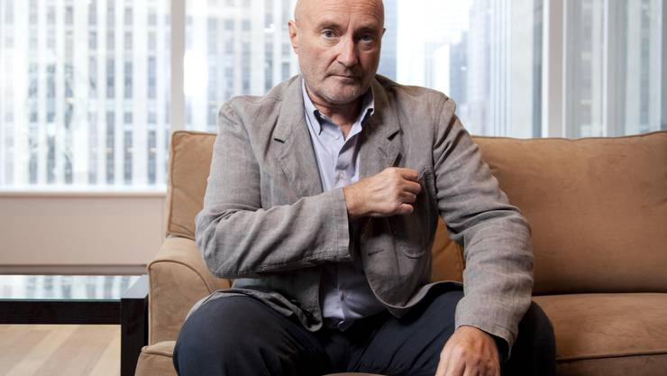 Phil Collins beim Interview mit der Nordwestschweiz in London
