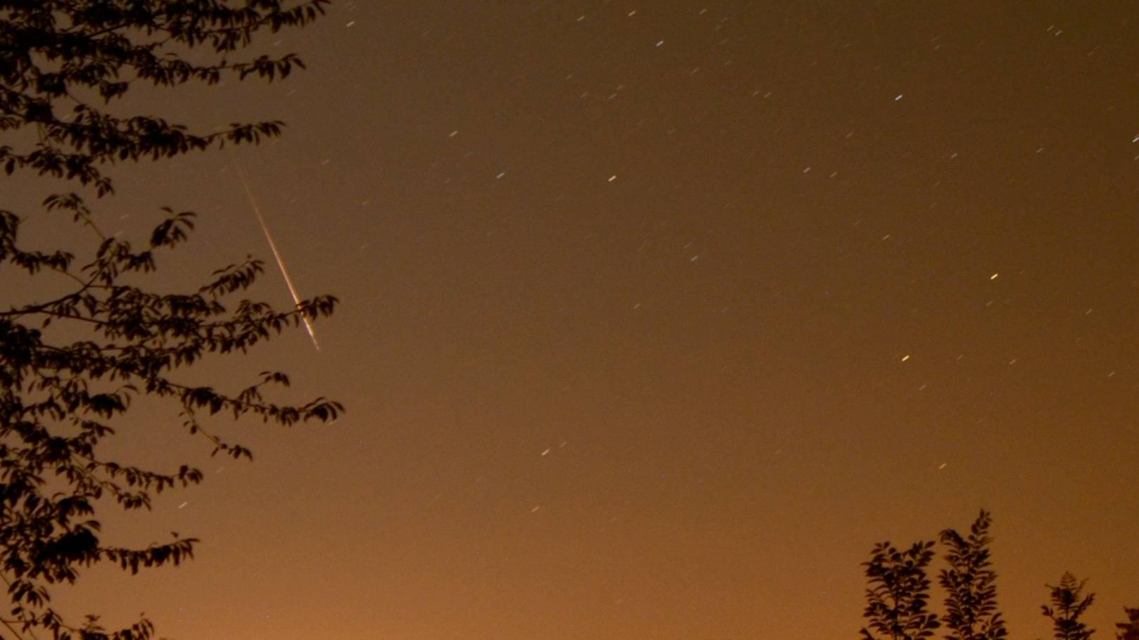 Perseiden: Besonders viele Sternschnuppen zu sehen