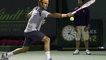 Roger Federer zieht kampflos in die Halbfinals ein
