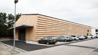 Entstanden ist eine Holzkonstruktion in Leichtbauweise.