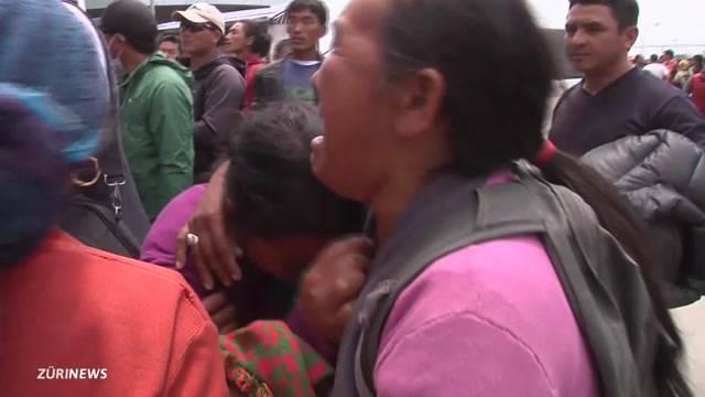 Schweiz schickt Nepal erste Hilfe