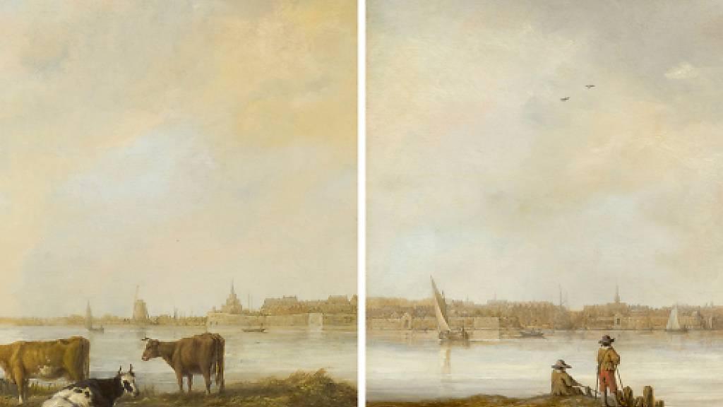 Durchgesägt: Gemälde von Rembrandt-Zeitgenosse Cuyp gehören zusammen