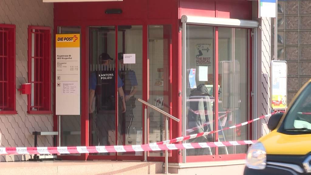 Postüberfall in Murgenthal: Mehrere tausend Franken erbeutet