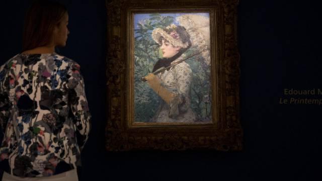 """""""Le Printemps"""" von Édouard Manet bei bei Christie's (Archiv)"""
