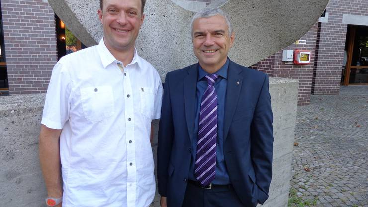 Reto Kohli (links) und Silvio Bertini wurden neu in den Vorstand des IHVG gewählt. Es fehlt Caroline Knecht.