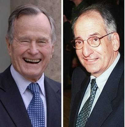 George Bush Sr. traf Bundesrat Jean-Pascal Delamuraz 1990.