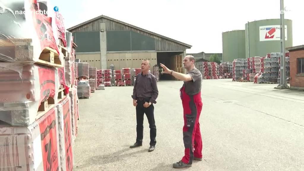 Ziegelfabrik in Gettnau im Stress wegen kaputten Dächern