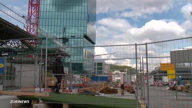 Mega-Baustelle Hardbrücke: Arbeiter für Endphase gerüstet