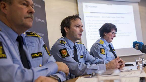 Die norwegische Polizei informierte am Dienstag in Tysfjord.