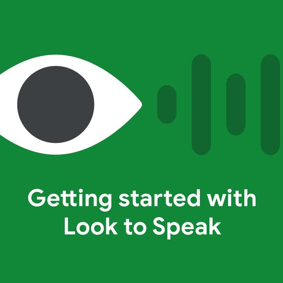 In dieser App kommunizierst du mit den Augen