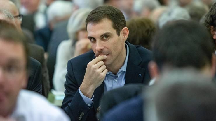 Thierry Burkart will Licht ins Dunkel von Wahlspenden bringen.