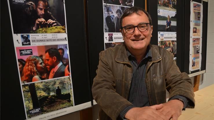 Reto Holzgang, Präsident des Filmklubs Muri, ist überzeugt, dass sein Verein auch in Zukunft die Bedürfnisse des Publikums erkennt und zu befriedigen vermag. ES
