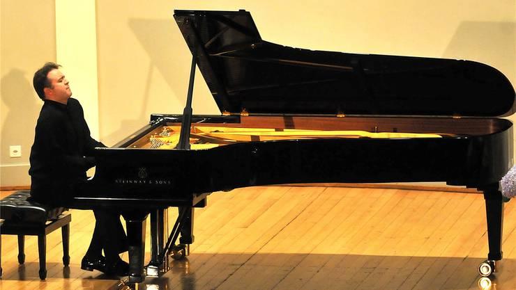 Alexei Volodin gab Brahms, Schumann und Rachmaninow. Markus Müller