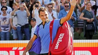Roger Federer ist mit acht Titeln der Rekordsieger am ATP-Turnier im westfälischen Halle
