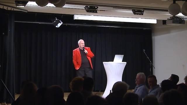 Marcel Weber (ja, der Bruder von Peach) hatte seine ersten Solo-Auftritte – das sagt das Publikum