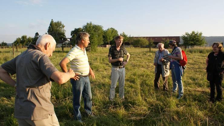 Peter Meyer und Thomas Burkard erklärten, was wilde Tieren in unserer Landschaft brauchen.