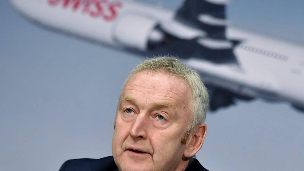 Swiss-Chef Thomas Klühr hat keine Angst auf der Langstrecke von neuer Billig-Konkurrenz abhängt zu werden. Das Thema werde nicht das Ausmass wie auf der Kurzstrecke erreichen. (Archiv)