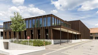 Die neue Mehrzweckhalle mit Gemeindesaal wurde im Juni 2019 eingeweiht.
