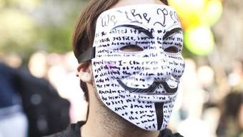 Die Hacker-Gruppe Anonymous hatte mit Angriffen gedroht (Symbolbild)