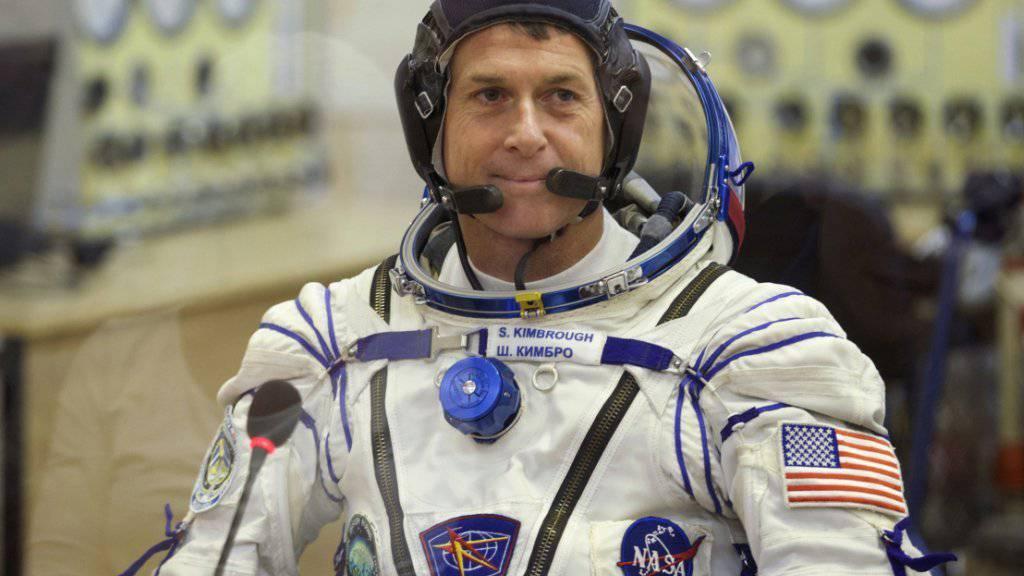 US-Astronaut Shane Kimbrough, derzeit in der Raumstation ISS, hat dank eines speziellen Gesetzes aus dem All wählen können. (Archivbild)