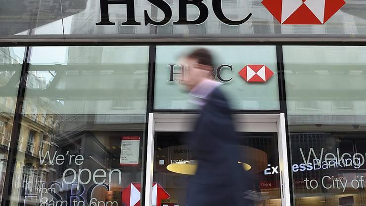 Die britische Grossbank HSBC weist jegliches Fehlverhalten im Zusammenhang mit dem Internetbanken-Zinssatz Libor zurück. (Symbolbild)