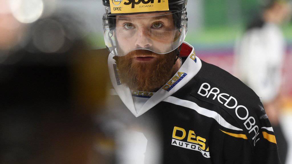 Julien Vauclair bleibt gesperrt: Der HC Lugano muss auch in der nächsten beiden Playoff-Viertelfinalspielen auf seinen Routinier verzichten