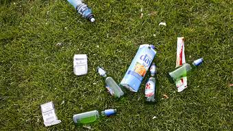 Wer nach dem Picknick seinen Abfall liegen lässt, kann künftig mit einer Ordnungsbusse - und damit einfacher als heute - bestraft werden. (Archivbild)